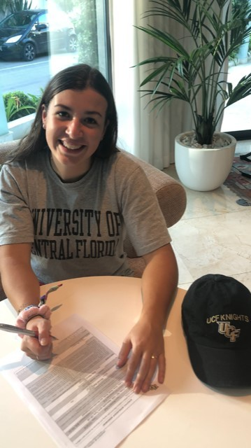 National Signing Day - Jess signs for UCF