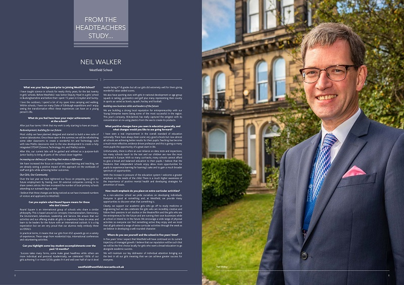 From the Headteacher's Study - Northern Insight magazine